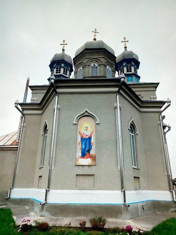 Изготовление икон на композите для фасадов храмов на заказ