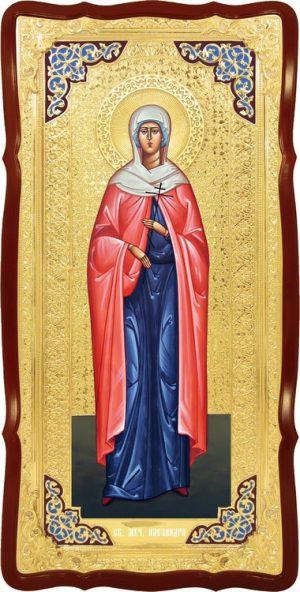 Икона ростовая Св. Александра