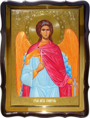 Икона Ангела Хранителя поясная для храма