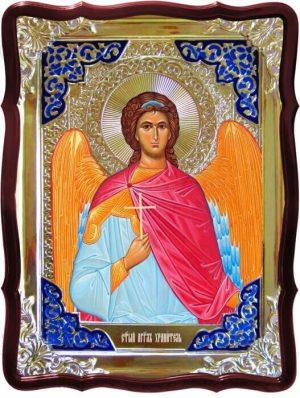 Заказать икону Ангела Хранителя ручной работы