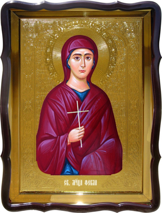 Православная икона Святой  Феклы для храма купить