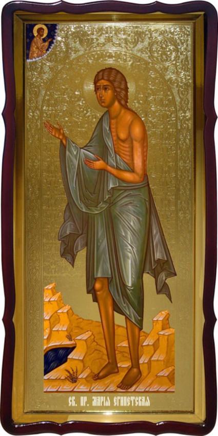 Церковную икону Святой Марии Египетской купить