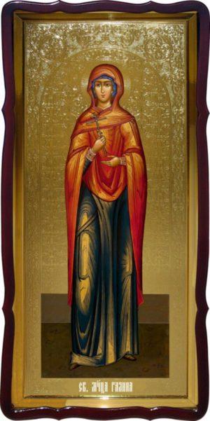 Церковная икона Святой Галины для храма купить