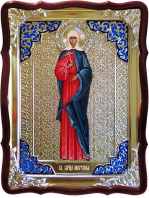 Икона в ризе - Святая мученица Анастасия в магазине церковной утвари