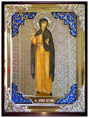 Икона в ризе - Святая мученица Антонина заказать в церковной лавке