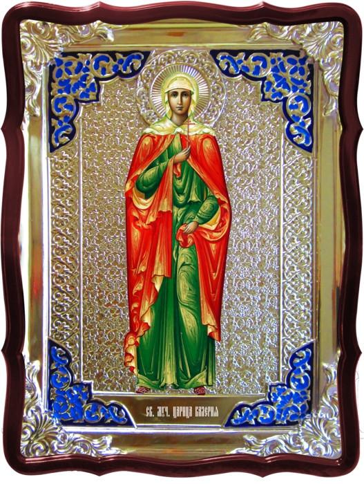 Икона в ризе - Святая мученица Валерия в православном магазине