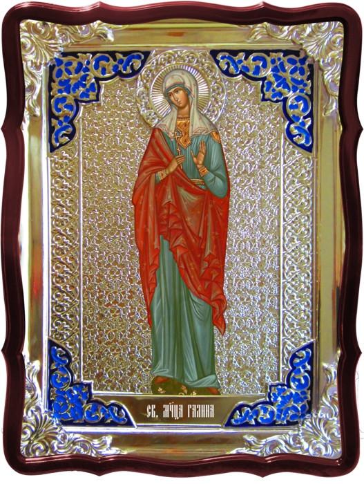 Икона в ризе - Святая мученица Галина ростовая в магазине церковной утвари