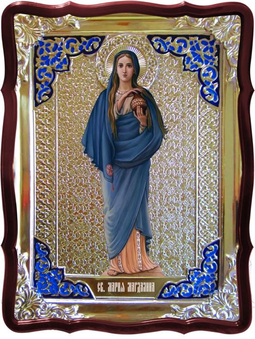 Икона в ризе - Святая мученица Мария Магдалина в православном магазине