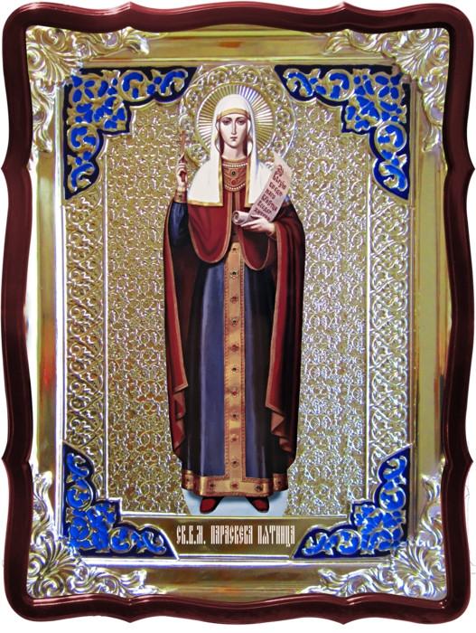 Икона в ризе - Святая мученица Параскева Пятница заказать в церковной лавке