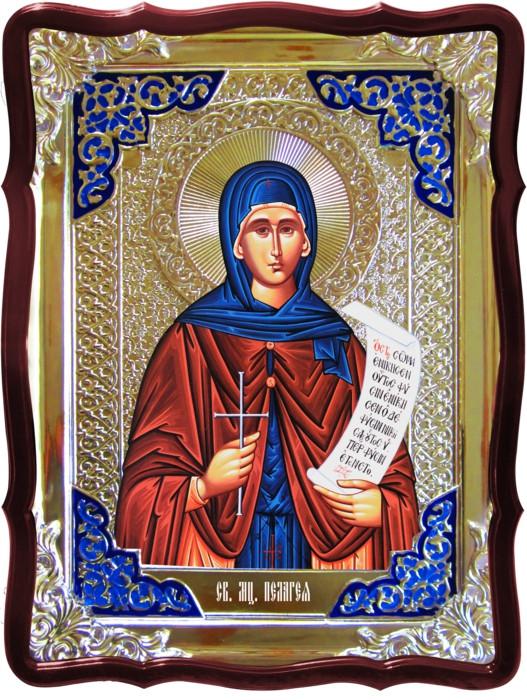 Икона в ризе - Святая мученица Пелагия в православном магазине