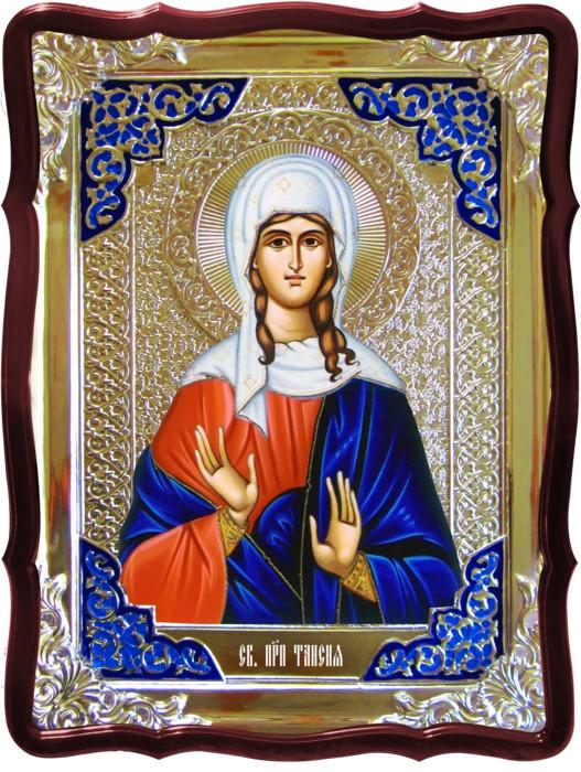 Икона в ризе - Святая мученица Таисия в православном магазине