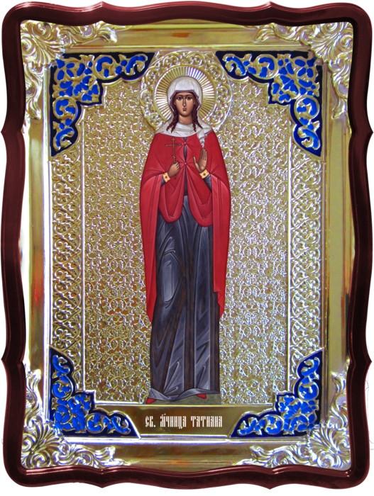 Икона в ризе - Святая мученица Татиана Римская в магазине церковной утвари