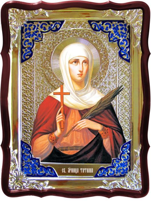 Икона в ризе - Святая мученица Татьяна в православном магазине
