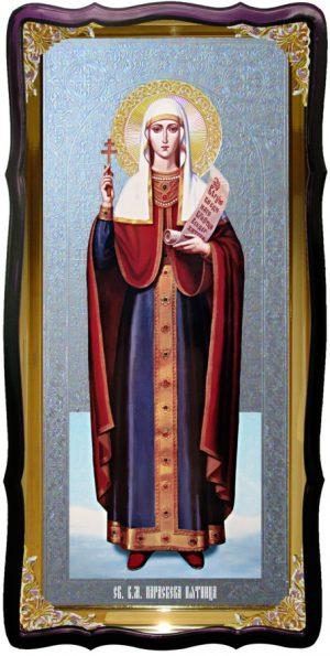 Икона большая под серебро Святая Параскева Пятница в православном магазине
