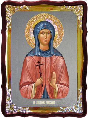 Икона под серебро Святая Анастасия Римлянина  в церковной лавке