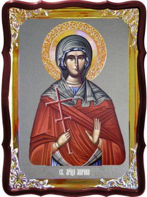 Икона под серебро Святая Марина  в церковной лавке