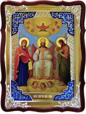 Икона Спасителя храмовая -  Царь Славы