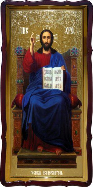 Образ Иисуса Христа - икона Спаситель на троне