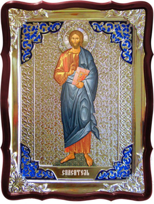 Икона Спаситель храмовая -  Спаситель (рост)