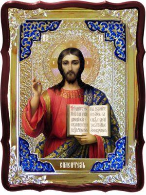 Христос спаситель икона храмовая - Спаситель