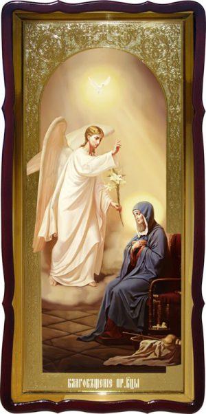 Ростовая икона Благовещение Пресвятой Богородицы