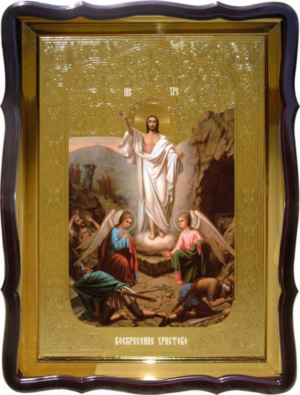 Храмовая икона Воскресение Господне - купить в лавке