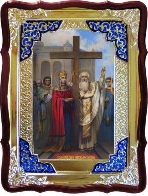 Икона для церкви Воздвижение креста (80х60см)