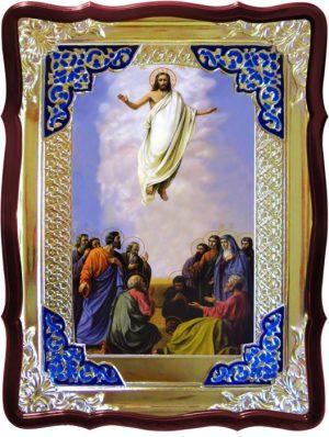 Храмовая икона Вознесение Господне ростовая