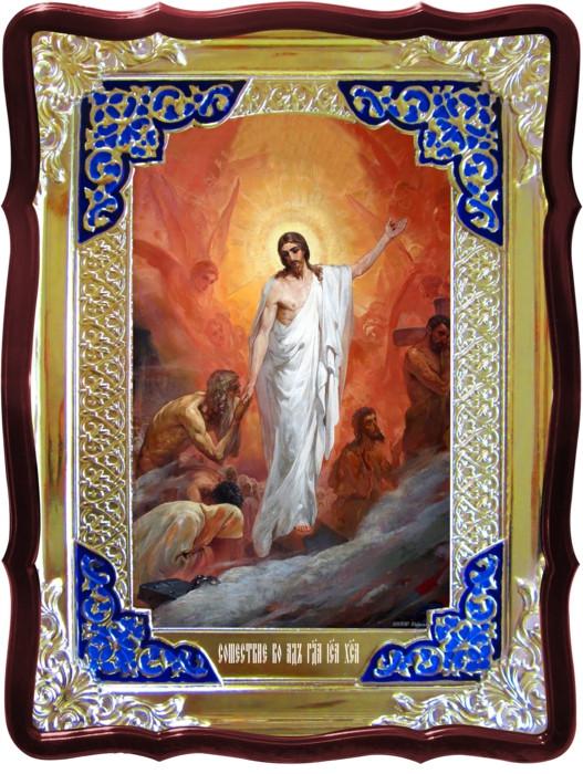Иконы православной церкви: Сошествие в ад