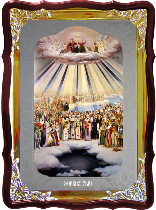 Икона для православного храма Собор всех святых