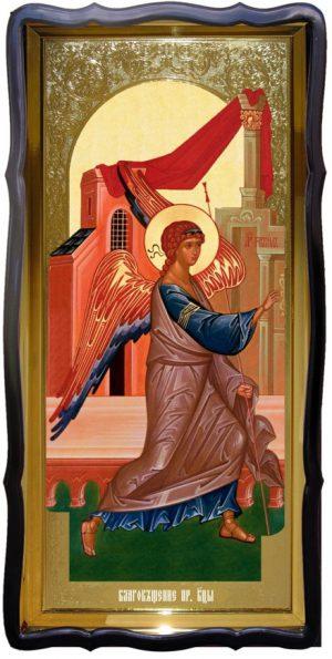 Икона для церкви ростовая Благовещение