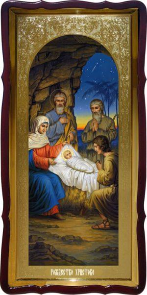 Магазин икон предлагает икону Рождество Христово