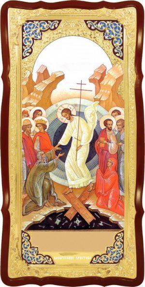 Храмовая икона Воскресение Христово (визант)