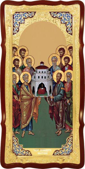 Икона для православного храма Собор 12 апостолов