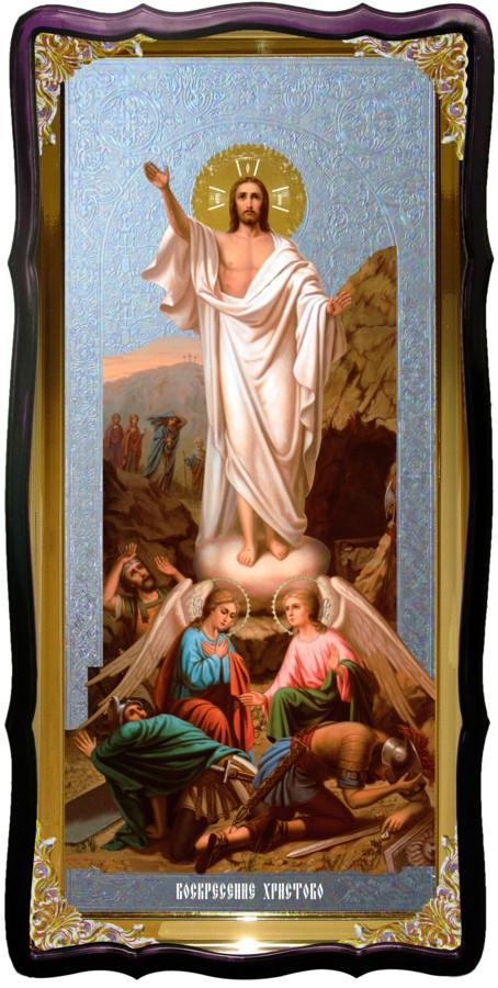 Храмовая икона Воскресение Христово