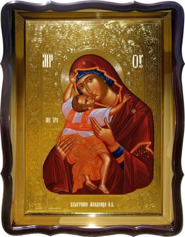 Храмовая икона Взыграние Младенца Пресвятой Богородицы