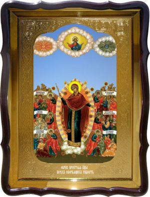 Икона в лавке -  Всех Скорбящих Радость Пресвятой Богородицы 2