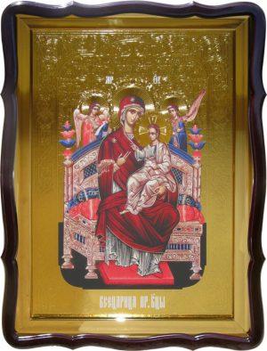 Православная икона на заказ Всецарица Пресвятой Богородицы