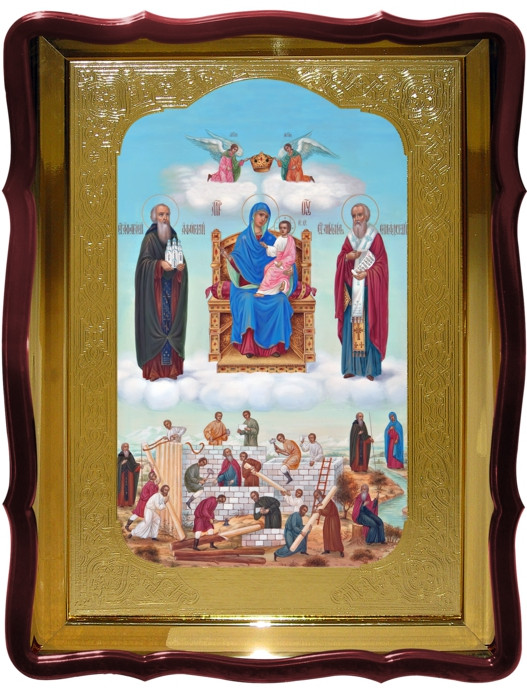 Храмовая икона Домостроительница Пресвятой Богородицы
