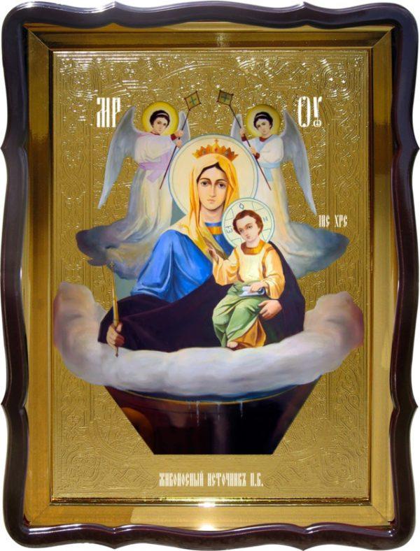 Православные иконы святых:  Живоносный Источник Пресвятой Богородицы