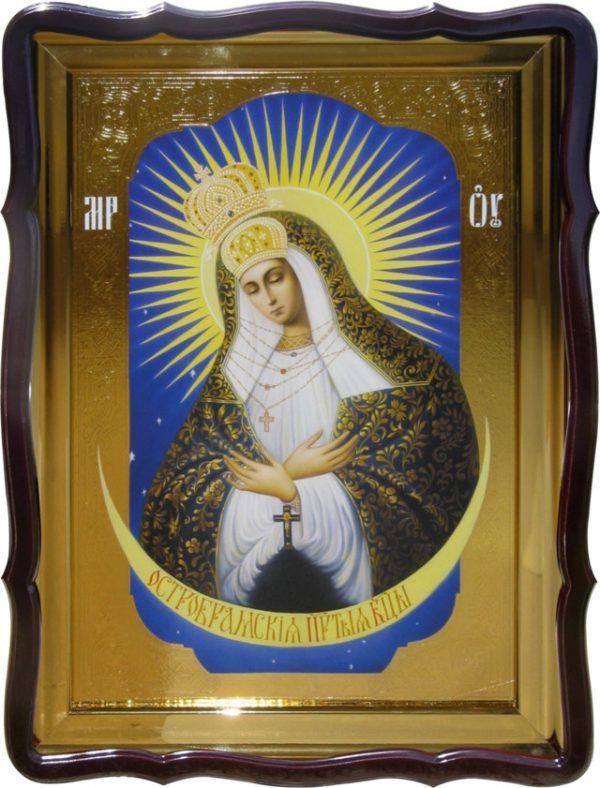 Православная икона на заказ Остробрамская Пресвятой Богородицы