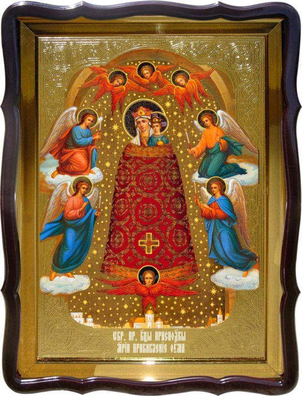 Икона в лавке -  Прибавление Ума Пресвятой Богородицы