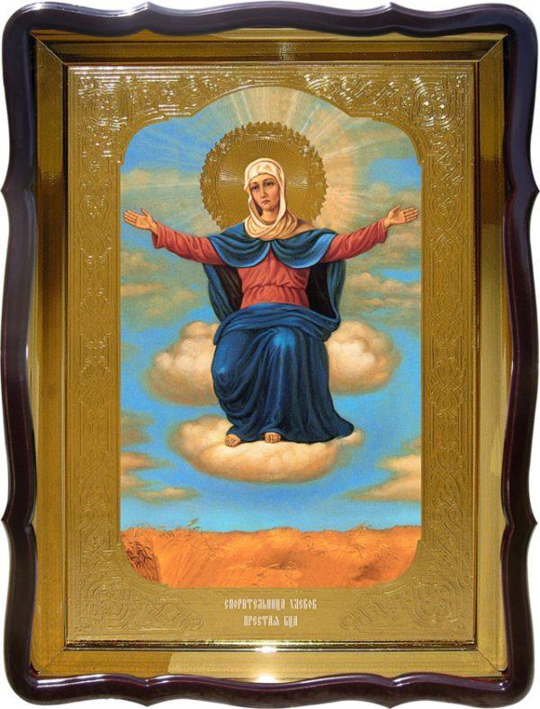 Купить икону Спорительница Хлебов Пресвятой Богородицы