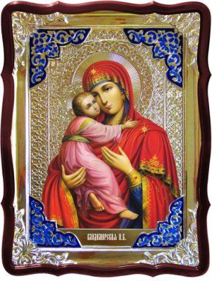 Храмовая икона Владимирская Пресвятой Богородицы