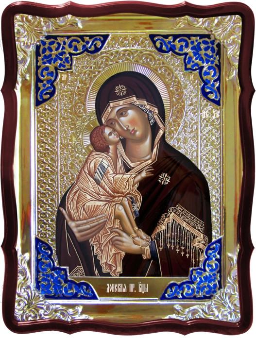 Православная икона на заказ Донская Пресвятой Богородицы