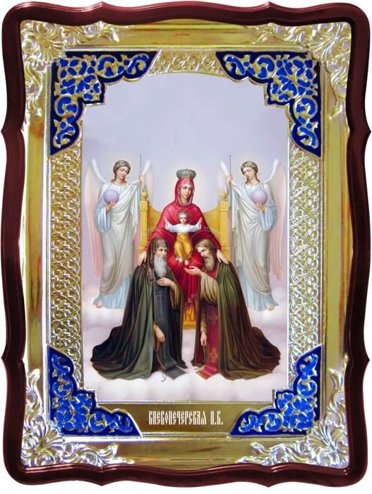 Храмовая икона Киево-Печерская Пресвятой Богородицы