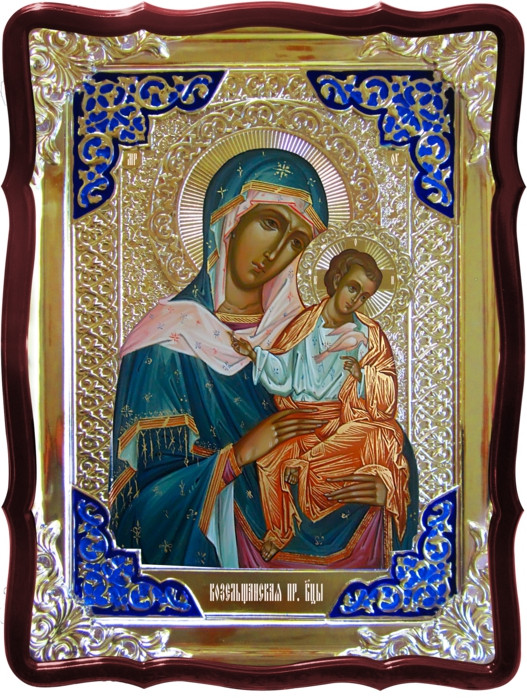 Православные иконы святых:  Коневская (голубицкая) Пресвятой Богородицы
