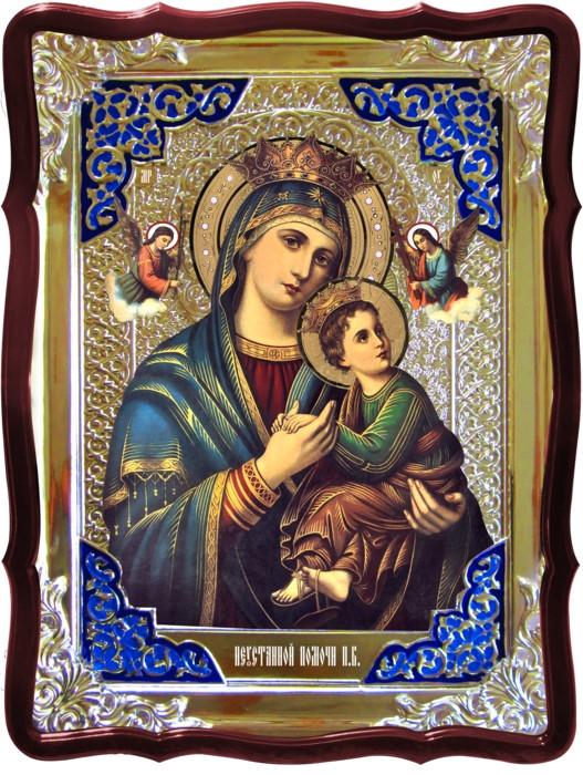 Православная икона на заказ Неустанной помочи Пресвятой Богородицы
