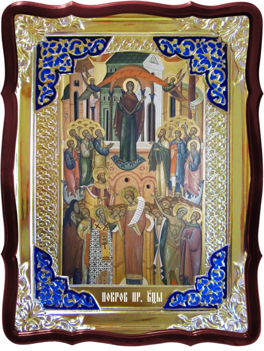 Икона в интернет магазине Покров Пресвятой Богородицы 3