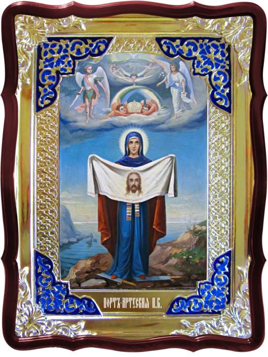 Храмовая икона Порт-Артурская Пресвятой Богородицы